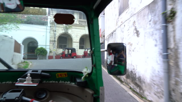 4K Tuk tuk tour in Colombo and Galle, Sri Lanka Footage by Sony A7r mark 2, lens 24-105 colombo stock videos & royalty-free footage