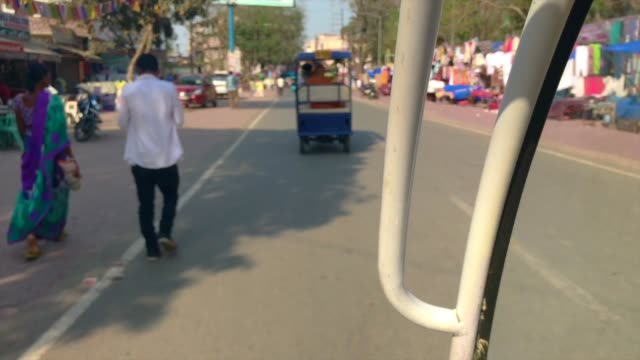 Tuk-Tuk Trip To Mahabodhi Temple, Bodhgaya , India video