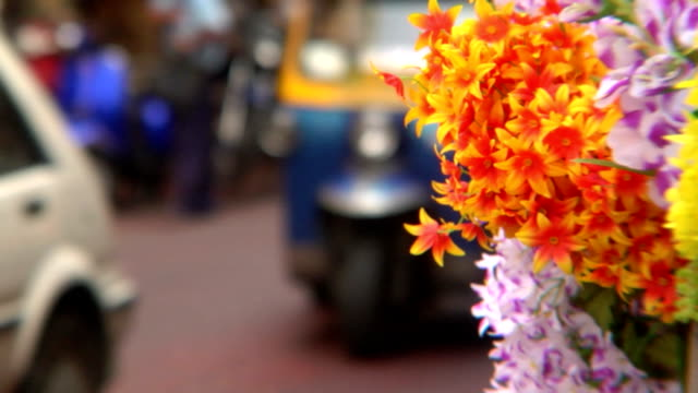 Tuktuks and Plastic Flowers video