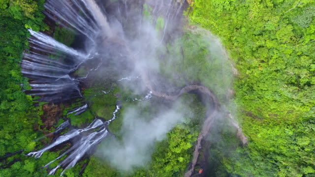 Tumpak sewu waterfalls - video