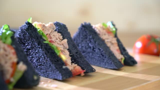 tuna charcoal sandwich video