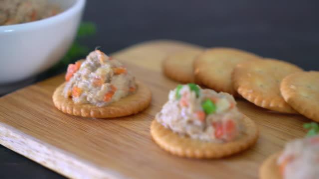 tuna cracker tuna cracker tuna seafood stock videos & royalty-free footage