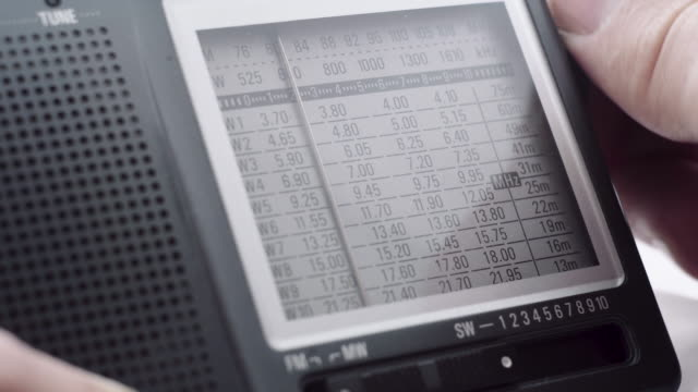 tuning of the radio band receiver video