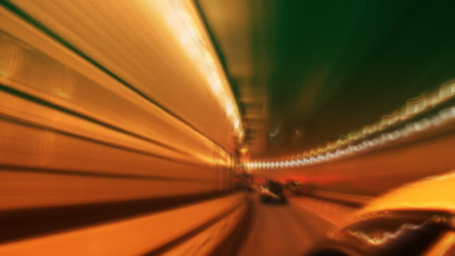 NYC Tunnel and Traffic video