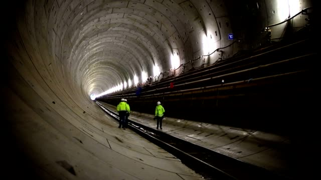 Tunnel inspection video
