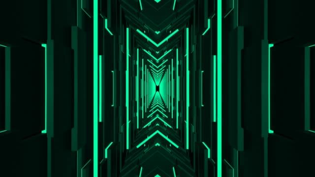 tunnel loop - spazio e astronomia video stock e b–roll