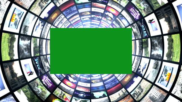 トンネルのモニター - 地球のビデオ点の映像素材/bロール