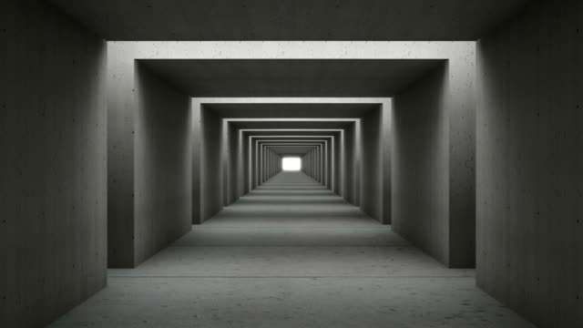 tunnel wall out concrete - concrete architecture stock videos & royalty-free footage