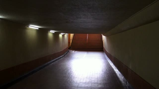 Tunnels, Underpass, Pedestrian, Walking