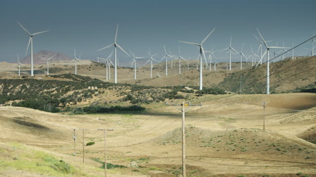 Turbines and Power Lines video