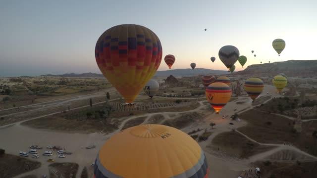 turkey cappadocia - obiekt światowego dziedzictwa unesco filmów i materiałów b-roll