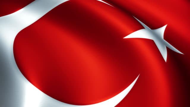 Turkey Flag Near  - Loopable video