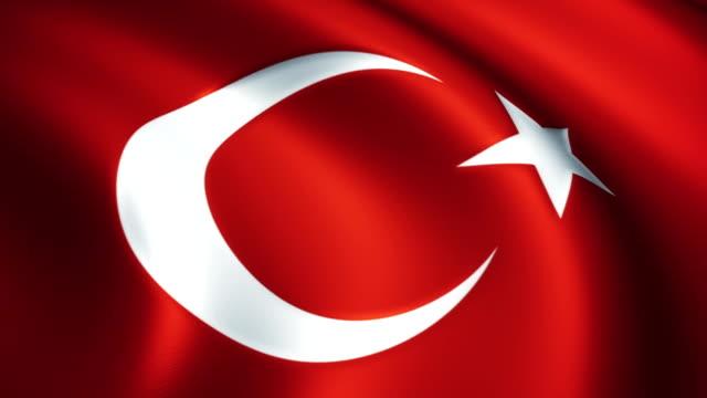 Turkey Flag video