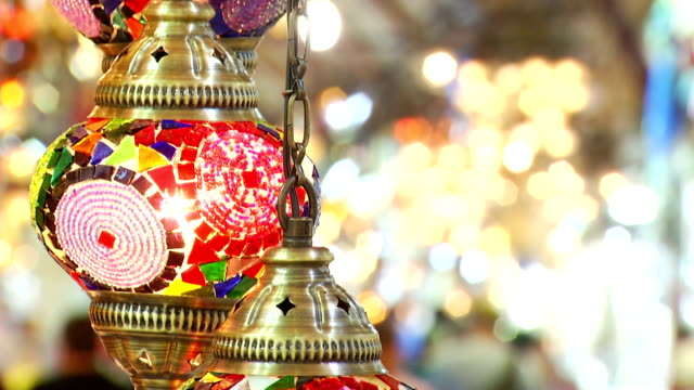 turchia istanbul grand bazaar - grand bazaar video stock e b–roll
