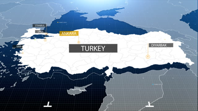 turkey map with label then with out label video