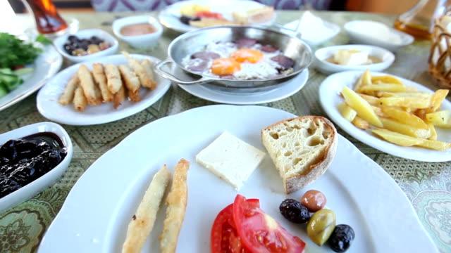 Turkish breakfast video