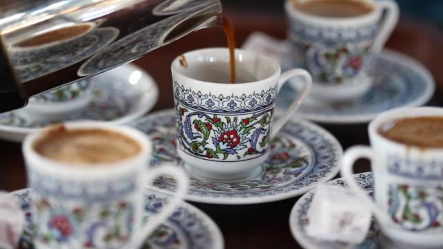 Turkish coffee video