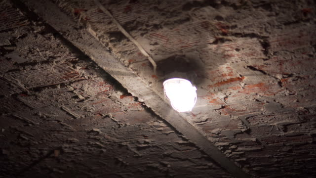 turn on/off light in basement - basement stock videos & royalty-free footage