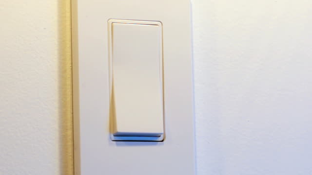 Turning light on and off, searching for switch