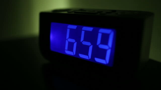 Turning off alarm clock video