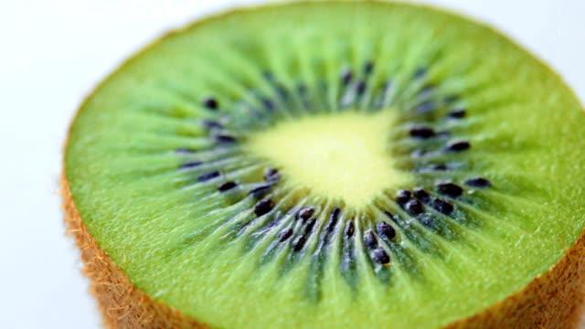 roterande skiva kiwi - kiwifrukt bildbanksvideor och videomaterial från bakom kulisserna