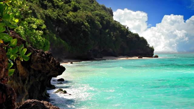 Turquoise lagoon loop video
