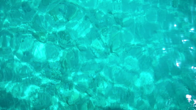 Turquoise sea water