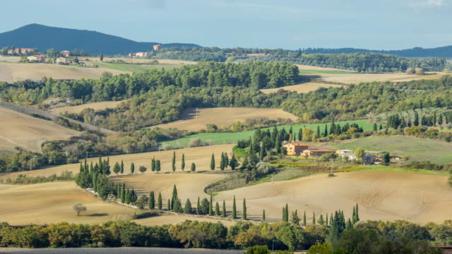 Tuscany italy landscape agriculture video
