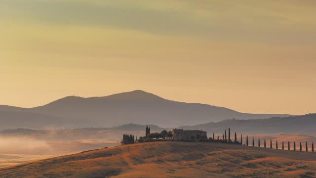tuscany bağ - toskana stok videoları ve detay görüntü çekimi