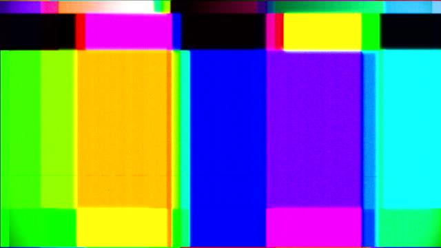 Tv Colourbars Distorted video