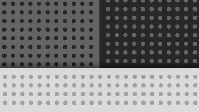 vídeos y material grabado en eventos de stock de doce (12) en bucle'copy space', polka-puntos tema - lunares