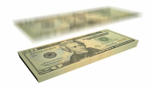 Twenty Dollar Bills - Falling From Heaven video