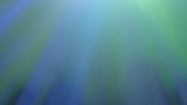 Twinkling multi color sunlight streaks video