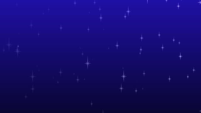 Twinkling Star Background HD video