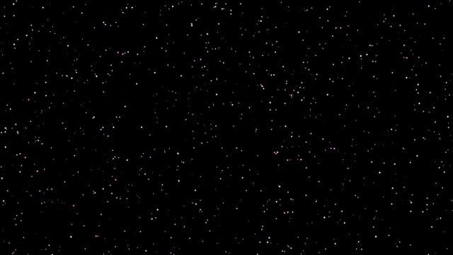 Twinkling stars video