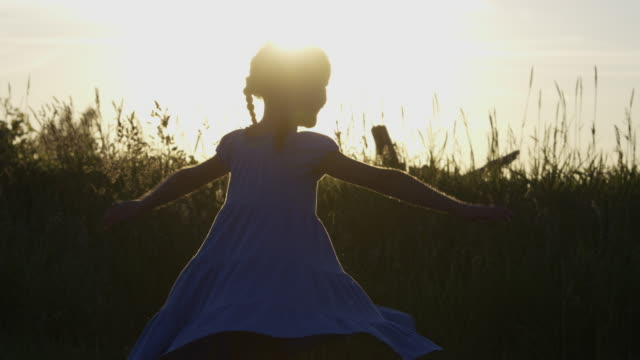 Twirling at Sunset video