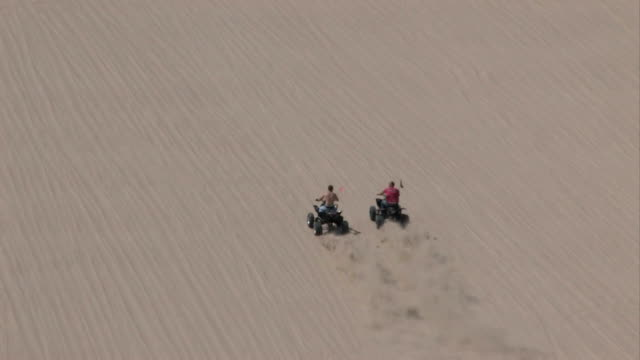Two ATV Sand mountain