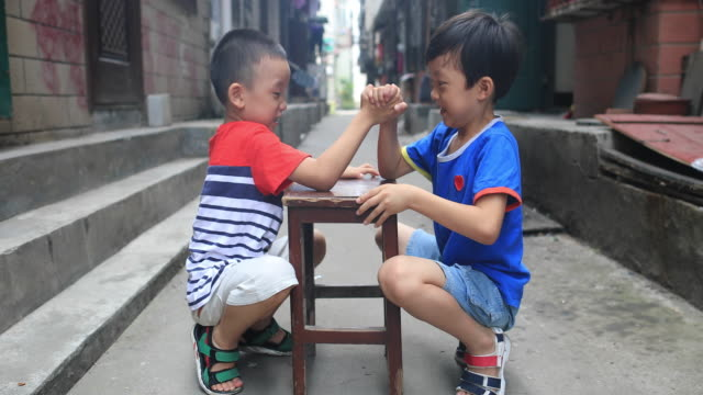 Two brothers in the hutong