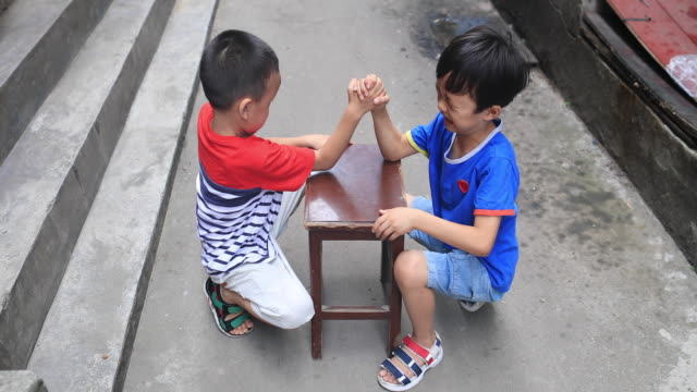Two brothers in the hutong video