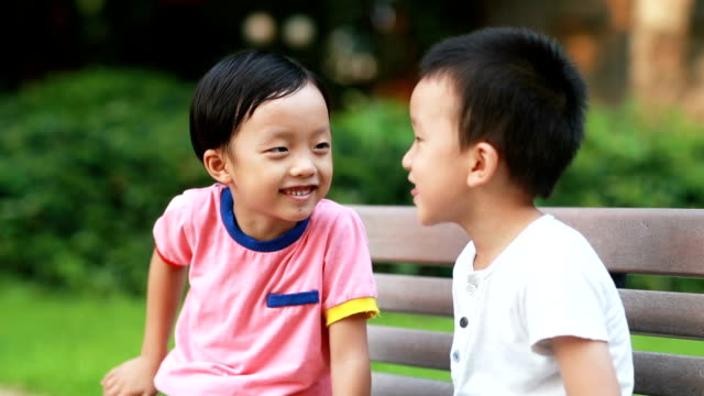 Two brothers played in the park Two brothers played in the park east asian ethnicity stock videos & royalty-free footage