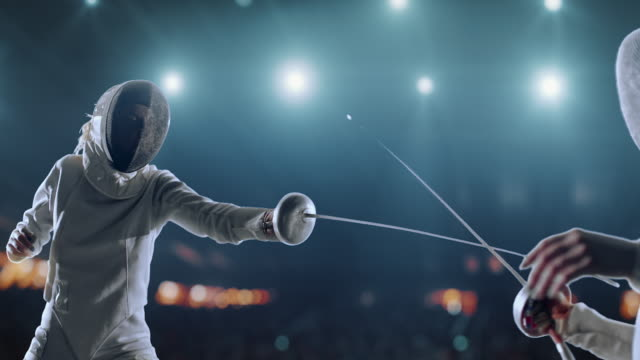 Best Fencing Sword Stock Videos and Royalty-Free Footage
