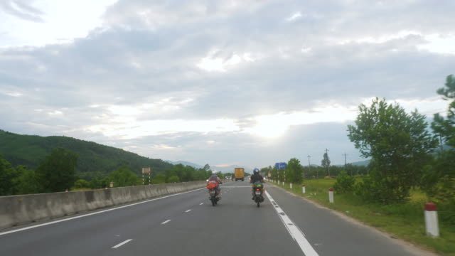Two Friends on a Motorcycle Trip in Vietnam video
