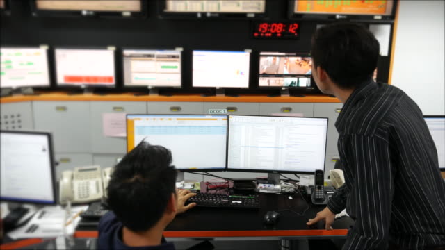 Two Network Operation are discuss on alert screen video