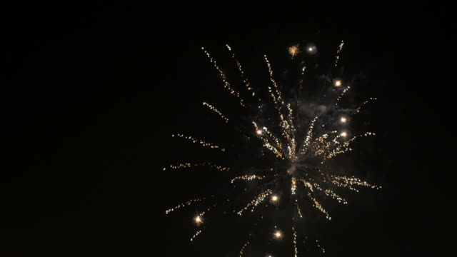 two videos of fireworks in 4k - canada day stock videos & royalty-free footage