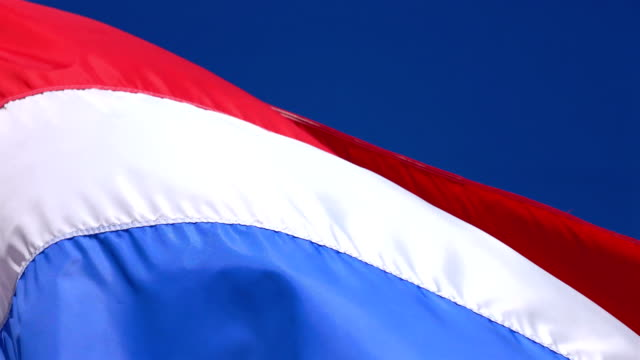 Two videos of Netherlands Flag in 4K video