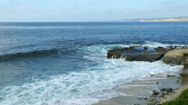 Two videos of waves in California in 4K video