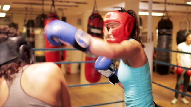 Two Women Boxing video