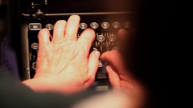 Typewriter - Over the Shoulder video