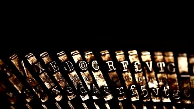 Typewriter video