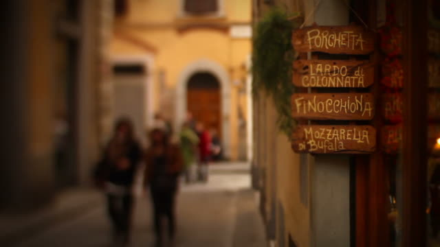 Typical Alley in Florence Video HD video